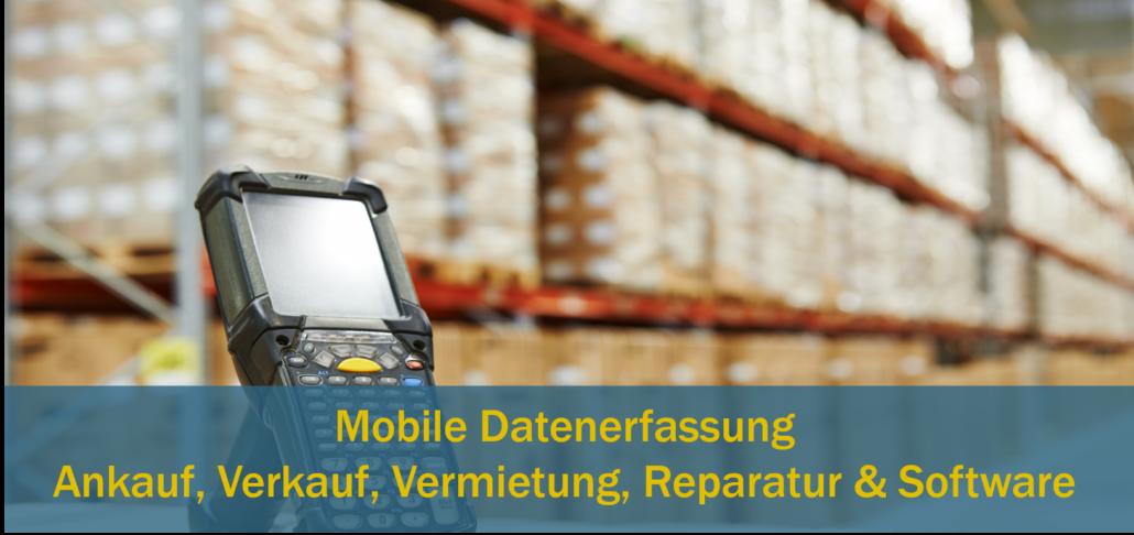 Mobile Datenerfassung MDE Barcode Scanner